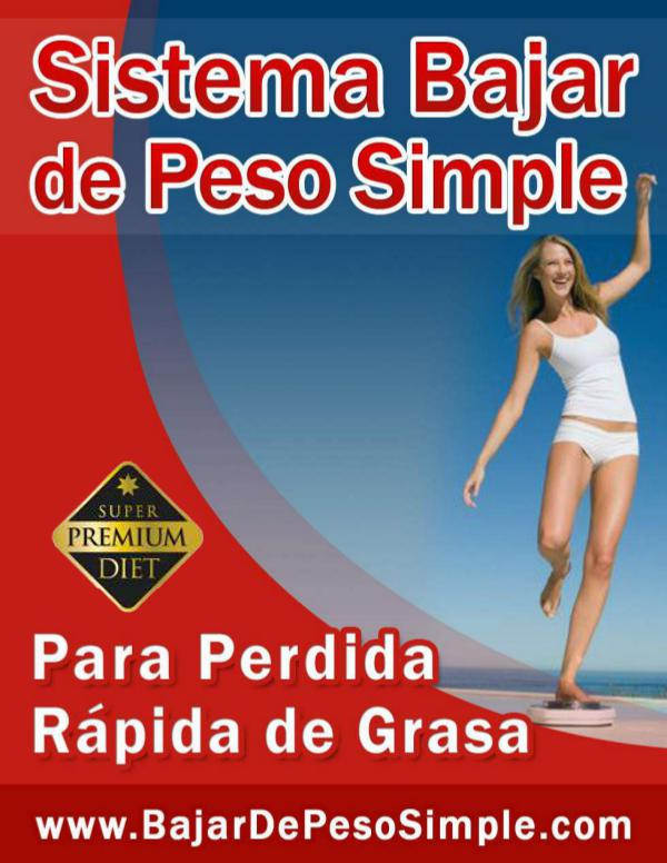 BAJAR DE PESO SIMPLE COMPLETO Bajar De Peso Simple Pdf Gratis