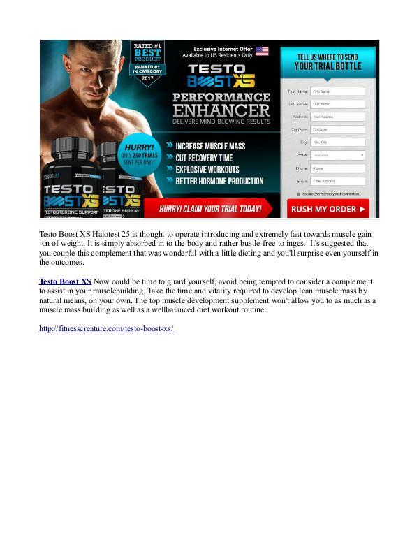 http://fitnesscreature.com/testo-boost-xs/ Testo Boost XS