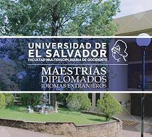 UES FMOcc - Maestrías, diplomados e idiomas extranjeros.