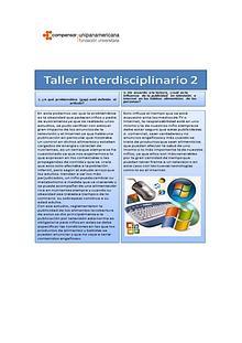 Taller interdisiplinario 2 comunicacion