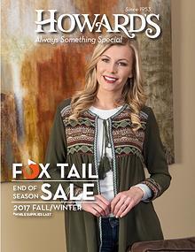 Howard's Fox Tail Fall 2017 Catalog
