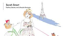 Sarah Smart - Fashion, Beauty and Lifestyle Illustrator From London