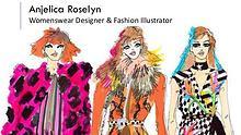 Anjelica Roselyn - Womenswear Designer & Fashion Illustrator, London