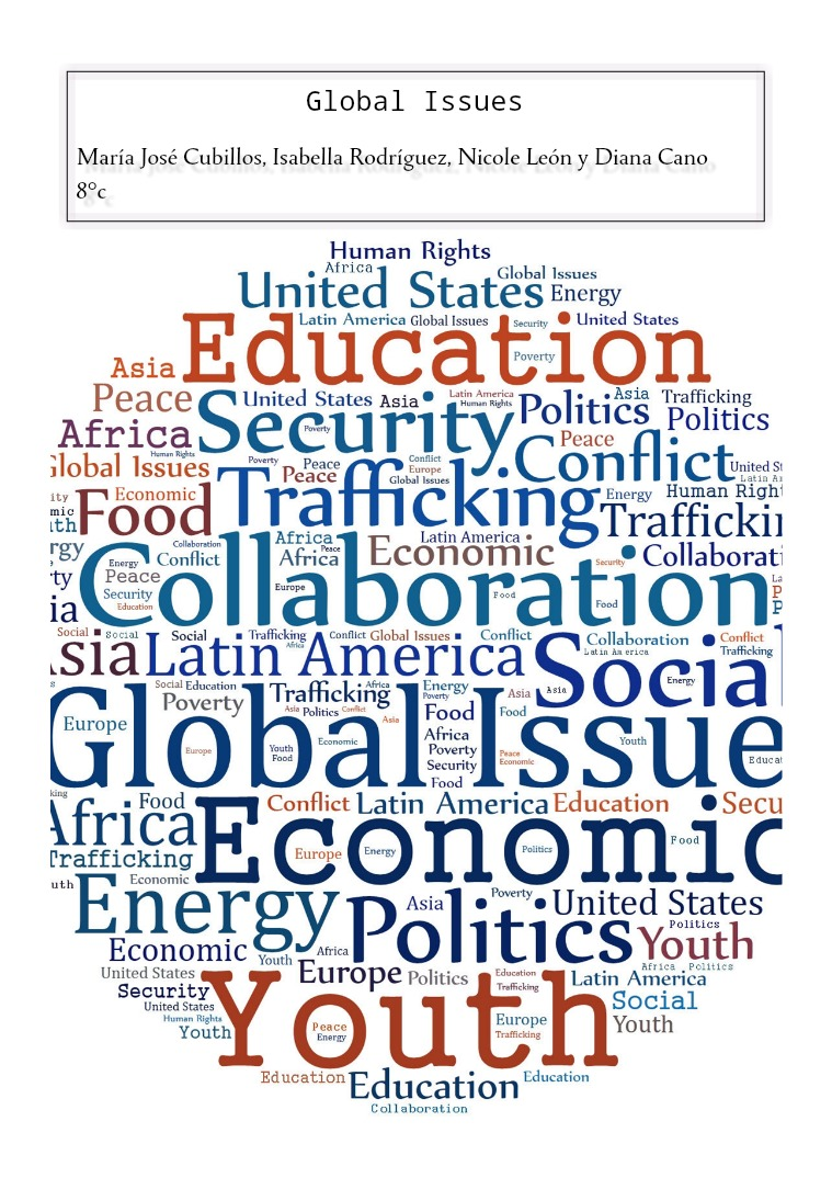 global issues essay Global health issues global issue is a broad description that is often if you are the original writer of this essay and no longer wish to have the essay.