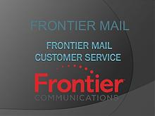 Frontier email customer care service