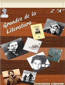 """Los Grandes de la Literatura 2° """"A"""""""