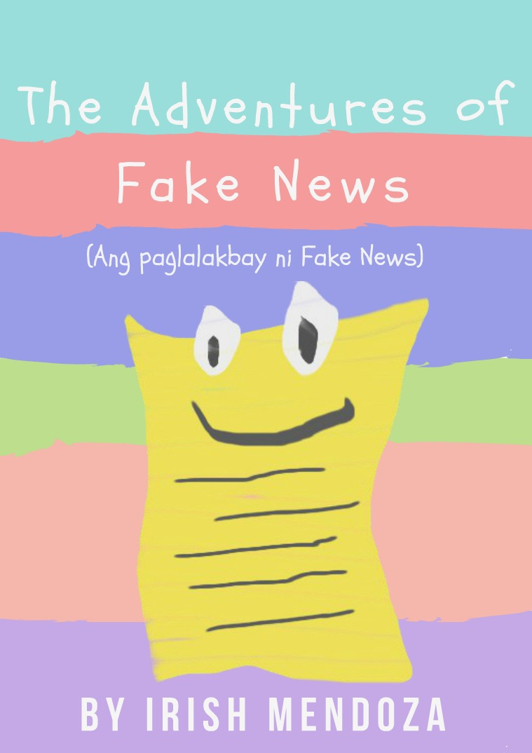 THE ADVENTURES OF FAKE NEWS Storybook