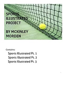 Sports Illustrated: Tennis edition
