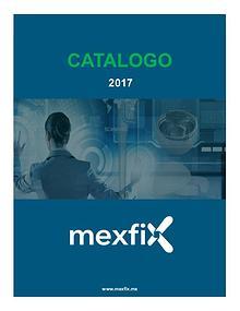 Catálogo Mexfix 2017