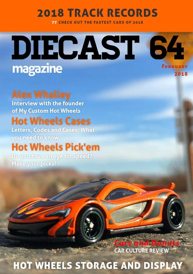Diecast 64 Magazine February 2018
