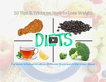 10 Tips & Tricks on How to Lose Weight