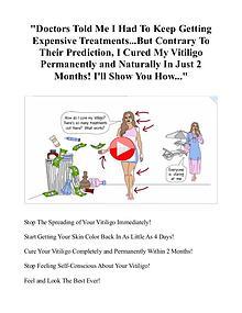 Natural Vitiligo Treatment System PDF / eBook Free Download