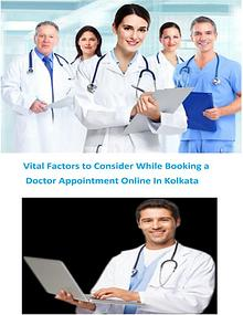Vital Factors to Consider While Booking a Doctor Appointment Online