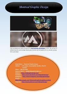 Montreal Graphic Design Company