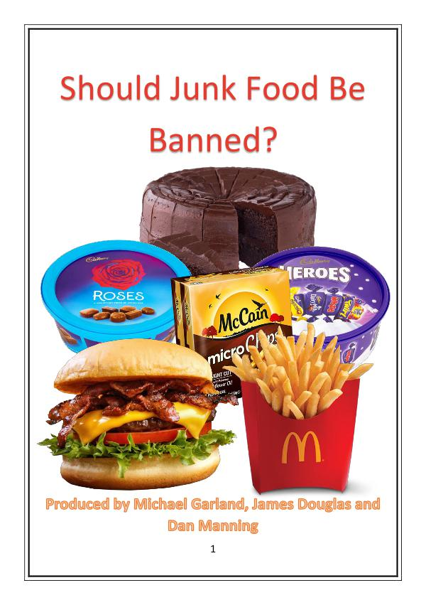 junk food ads to be banned Watch video junk food advertising is to be banned across all children's media – including online and social – in a landmark decision to help tackle childhood obesity junk food advertising is to be banned across all children's media – including online and social – in a landmark decision to help tackle childhood obesity.