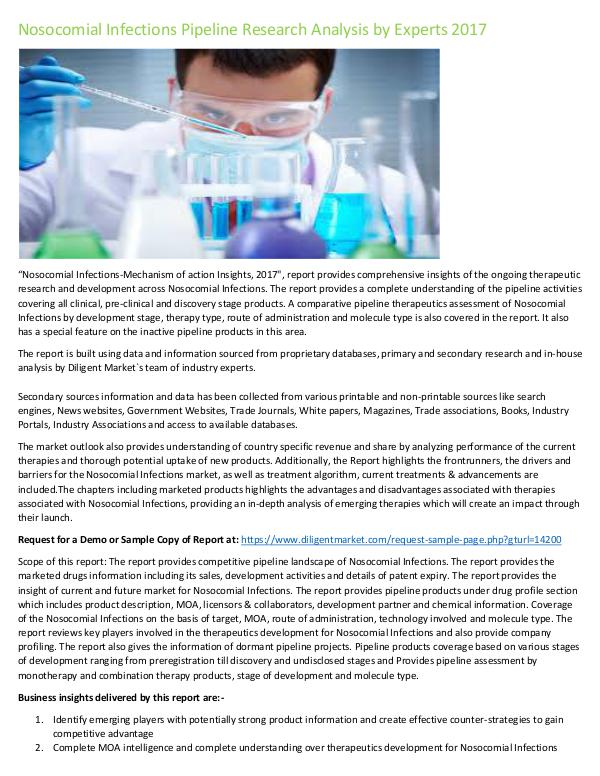 nosocomial infections research paper