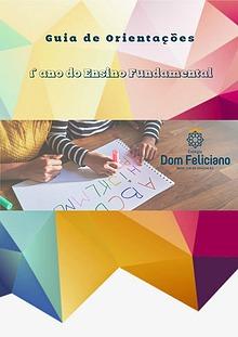 Guia de Orientações do 1º ano do Ensino fundamental