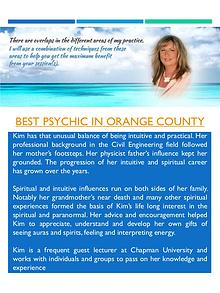 Best Psychic In Orange Couty