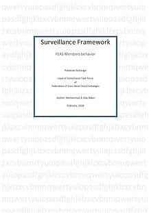 Surveillance Framework