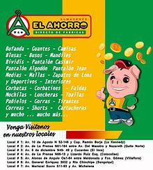 """Revista de Almacenes """"El Ahorro"""" No.1"""