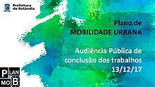 2º Audiência Pública PlanMob Rolândia 2017