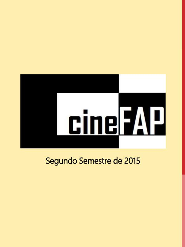 Catálogo Cine FAP Segundo Semestre de 2015