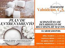 Manual de Normas y Procedimientos_Plan de Entrenamiento_Valnideam,CA