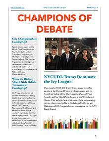 Champions of Debate