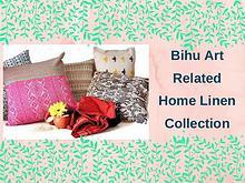 Bihu art related home linen collection