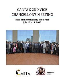 2ND CARTA VICE CHANCELLOR'S MEETING