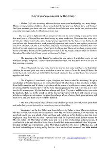 The Word of God in Romania y Trinity