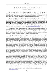 The Word of God in Romania artyr Mina