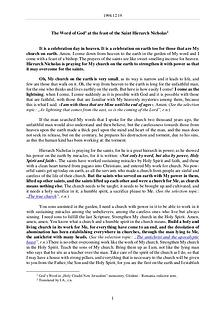 The Word of God in Romania aint Hierarch Nicholas