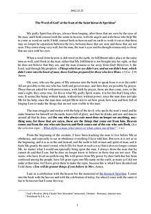 The Word of God in Romania aint hierarch Spyridon