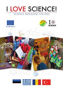 ESTONIAN I LOVE SCIENCE! SCIENZE MAGAZINE FOR KIDS