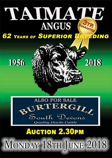 Taimate Angus 2018 Bull Sale Catalogue