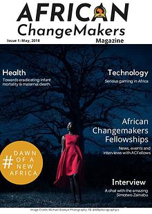 African Changemakers Magzine - #ACMagazine