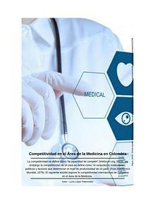 Competitividad de la Medicina en Colombia
