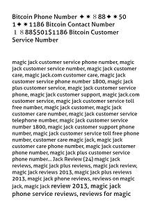 Bitcoin Phone Number ✦✷888✦✷50 1✦✷1186 Bitcoin Contact Number  1888$
