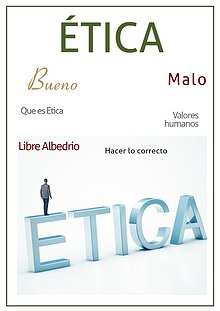 La Ética del Ser Humano