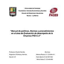 Manual de políticas pdf