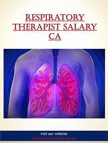 respiratory therapist salary