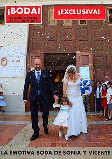 La emotiva boda de Sonia y Vicente