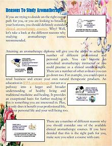 Reasons To Study Aromatherapy