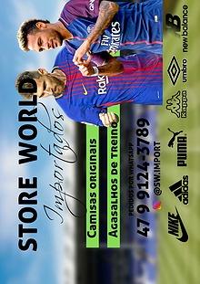 Catálogo Sport Wold Import - Camisa