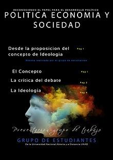 Política, economía y sociedad - Ideología