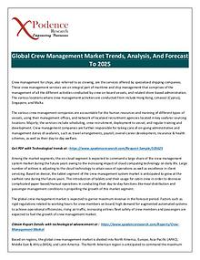 Future of Crew Management Market Discussed in New Research Report